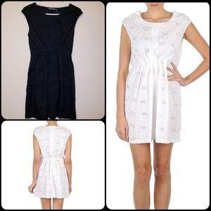 ANTIK BATIK | NWT EMBROIDERED BLACK DRESS